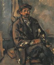 Paul Cézanne, Contadino seduto | Paysan assis | A seated peasant