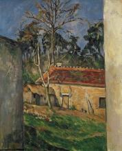 Cezanne, Cortile di una fattoria.jpg