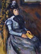 Cezanne, Donna in azzurro seduta.jpg