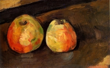 Cezanne, Due mele.jpg