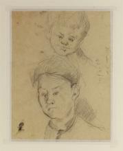 Cézanne, Foglio di studi [verso]