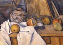 Cezanne, Frutta e vaso di zenzero.jpg