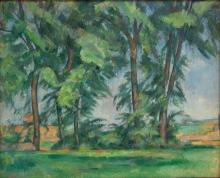 Cezanne, I grandi alberi allo Jas de Bouffan [1].jpg