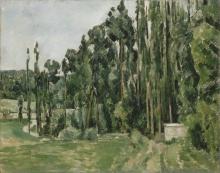 Cezanne, I pioppi.jpg