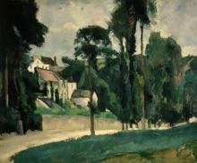 Cézanne, Il Clos des Mathurins a Pontoise (L'Hermitage) | Le Clos des Mathurins à Pontoise (L'Hermitage)