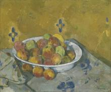 Cezanne, Il piatto di mele.jpg