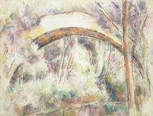 Cezanne, Il ponte dei Trois-Sautets.jpg