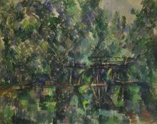 Cezanne, Il ponte sullo stagno.png