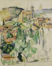 Cezanne, Il villaggio di Gardanne.jpg
