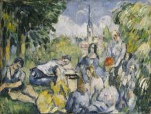 Cezanne, La colazione sull'erba.png