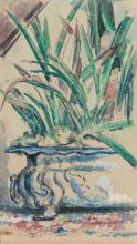 Cezanne, La fioriera blu [recto].png