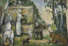 Cezanne, La fontana.png