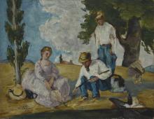 Cezanne, La gara di pesca I.png