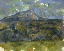 Cezanne, La montagna Sainte Victoire [10].jpg