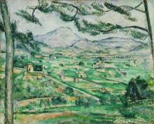 Cezanne, La montagna Sainte Victoire [6].jpg