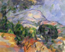 Cezanne, La montagna Sainte Victoire | La Montagne Sainte-Victoire | Mount Sainte-Victoire