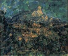 Cezanne, La montagna Sainte Victoire vista da Les Lauves [1].jpg