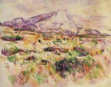 Cezanne, La montagna Sainte Victoire vista da Les Lauves [6].jpg