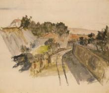 Cezanne, La trincea [recto].png