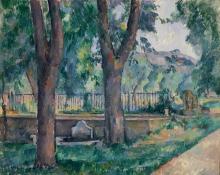 Cezanne, La vasca allo Jas de Bouffan.jpg