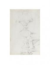 Cezanne, Lampada a petrolio [verso].png