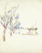 Cezanne, Mandorleti in Provenza.jpg