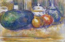 Cezanne, Natura morta con anguria e melagrane.jpg