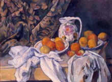 Cezanne, Natura morta con tenda.jpg