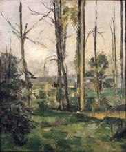 Cezanne, Paesaggio - Margini di un bosco.jpg