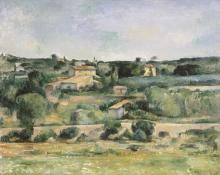 Paul Cézanne, Paesaggio in Provenza | Paysage en Provence | Landschaft aus der Provence