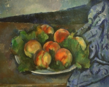 Cezanne, Piatto di pesche [1].jpg