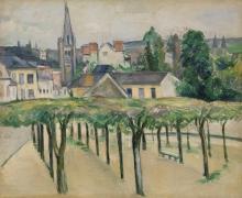 Cezanne, Piazza di villaggio.jpg