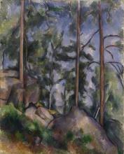 Cezanne, Pini e rocce.jpg