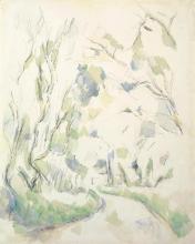 Cezanne, Pozzo e curva della strada nel parco dello Chateau Noir.jpg