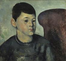 Cezanne, Ritratto del figlio dell'artista.png