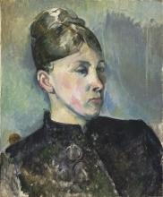 Cezanne, Ritratto della signora Cezanne | Portrait de Madame Cézanne | Portrait of Madame Cézanne
