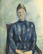 Cezanne, Ritratto della signora Cezanne [6].png