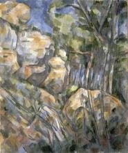 Cezanne, Rocce in prossimita delle grotte al di sopra dello Chateau Noir [1].jpg
