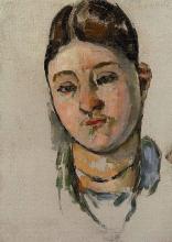 Cezanne, Schizzo di un ritratto della signora Cezanne.jpg