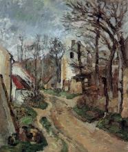 Cezanne, Strada ad Auvers sur Oise.jpg