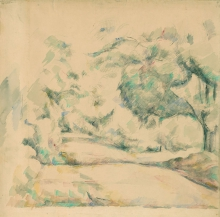 Cezanne, Strada in Provenza.jpg