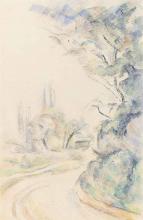 Cezanne, Strada in curva [1900 circa].png