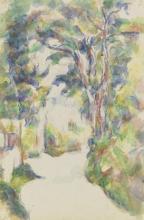 Cezanne, Strada in curva [recto].png