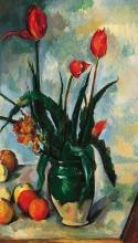 Cezanne, Tulipani in un vaso.jpg