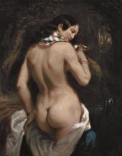 Théodore Chassériau, La bagnante | La baigneuse | Badende | The bather