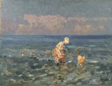 Beppe Ciardi, Al mare