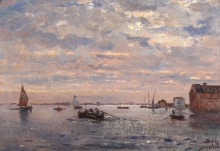 Beppe Ciardi, Imbarcazioni in laguna