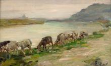 Beppe Ciardi, Le pecorelle in riva al Tevere