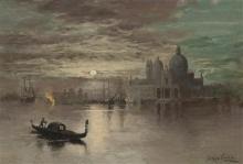 Beppe Ciardi, Notte al chiaro di luna a Venezia | Moonlit night in Venice