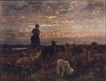 Beppe Ciardi, Pastorale al tramonto